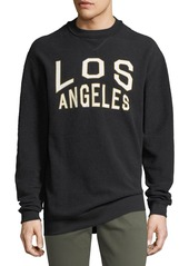 7 For All Mankind Oversized Reversible Los Angeles Sweatshirt