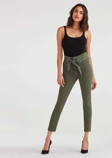 7 For All Mankind Paperbag Jean in Army