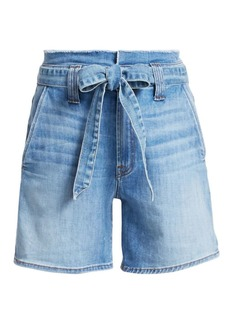 7 For All Mankind Paperbag Waist Shorts