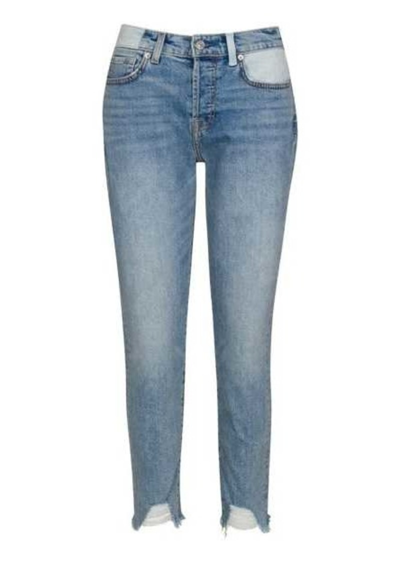 7 For All Mankind Josefina in Patched Sloane