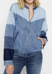 7 For All Mankind Patchwork Bomber in Patchwork Found