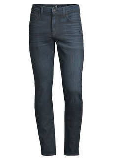 7 For All Mankind Paxtyn Coated Skinny Jeans