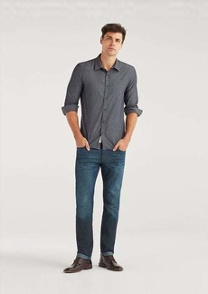 7 For All Mankind Paxtyn in Coated Troubador