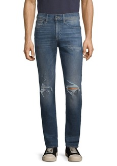 7 For All Mankind Paxtyn Skinny Distressed Jeans