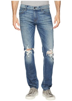7 For All Mankind Paxtyn Skinny Fit in Techtonic