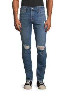 7 For All Mankind Paxtyn Torn-Knee Jeans