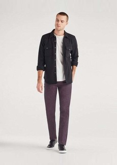 7 For All Mankind Paxtyn with Clean Pocket in Coated Burgundy