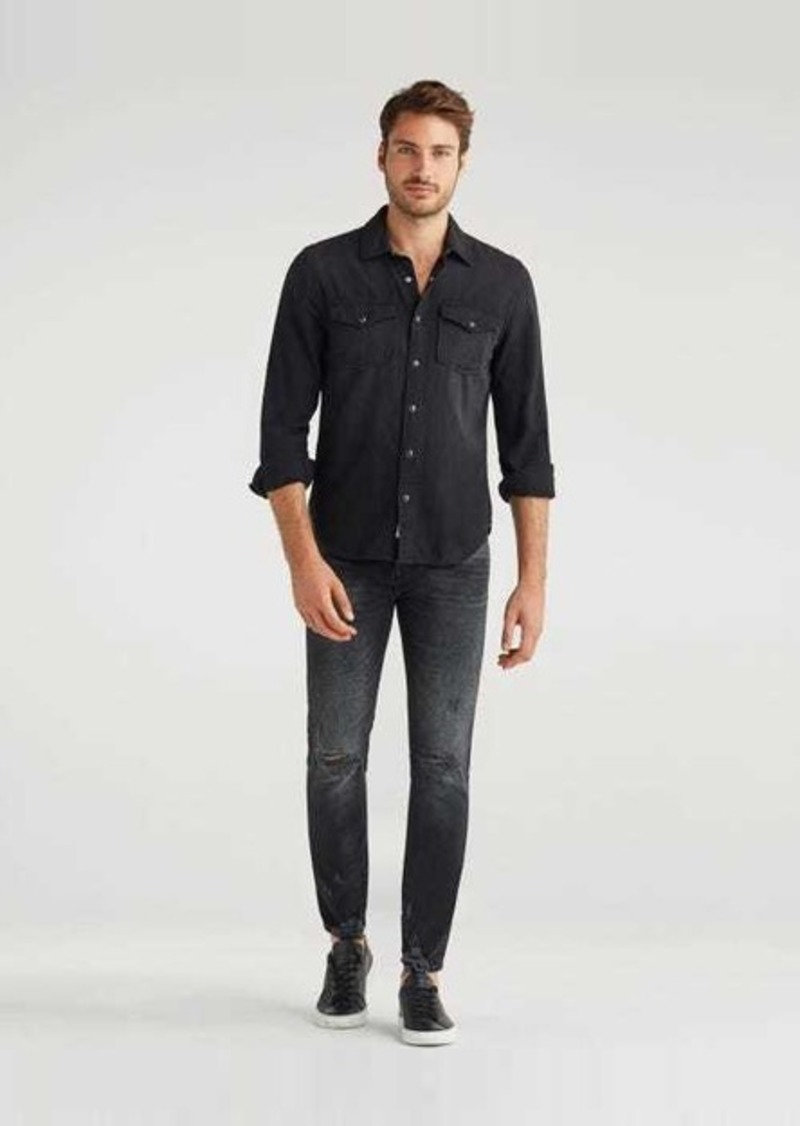 7 For All Mankind Paxtyn with Clean Pocket in Mulholland