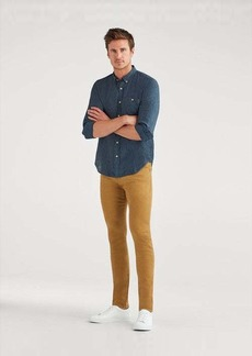 7 For All Mankind Performance Twill Paxtyn in Heritage Gold