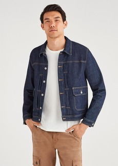 7 For All Mankind Pleated Front Trucker in Incognito