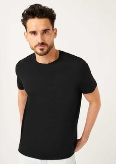 7 For All Mankind Pocket Tee In Black