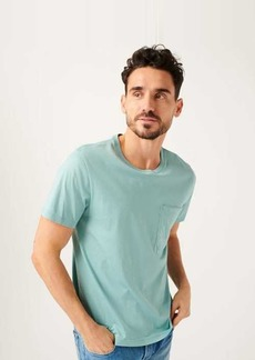 7 For All Mankind Pocket Tee In Mint