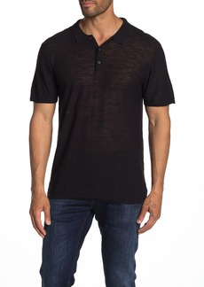 7 For All Mankind Polo Short Sleeve Sweater Shirt