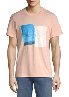 7 For All Mankind Present Cotton Tee