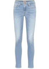 7 For All Mankind Pyper cropped mid-rise skinny pants
