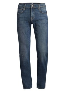 7 For All Mankind Rebel Slim-Fit Straight-Leg Jeans