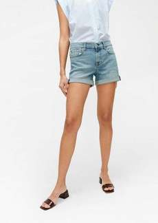 7 For All Mankind Relaxed Short in Rose Ave.