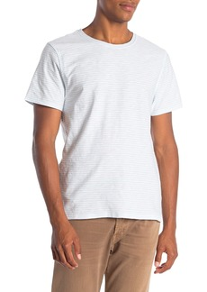 7 For All Mankind Reverse Feeder Crew Neck T-Shirt