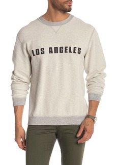 7 For All Mankind Reversible Crew Neck Sweatshirt