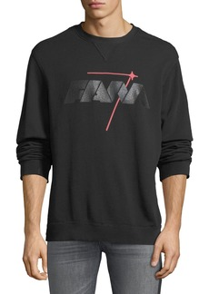 7 For All Mankind Reversible Logo Crewneck Sweatshirt