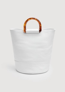 7 For All Mankind Ring Tote in White