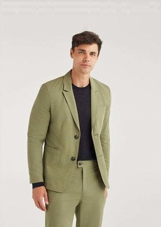 7 For All Mankind Ripstop Blazer in Army