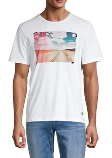 7 For All Mankind Road Graphic T-Shirt