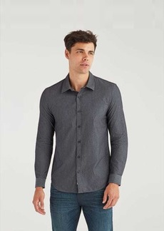 7 For All Mankind Roadster Shirt in Dark Rinse