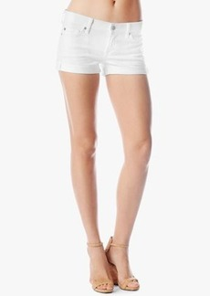 Roll Up Short in Clean White