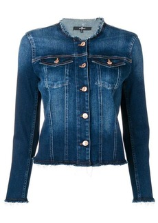 7 For All Mankind round neck jacket