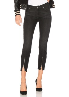 7 For All Mankind Roxanne Ankle With Front Zips
