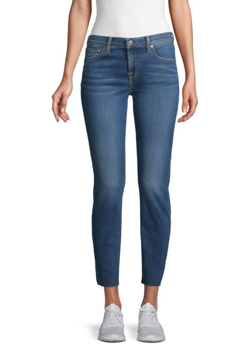 7 For All Mankind Roxanne Cut Skinny Ankle Jeans