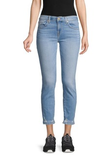 7 For All Mankind Roxanne Distressed Ankle Jeans