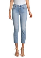 7 For All Mankind Roxanne Luxe Vintage Ankle Skinny Jeans