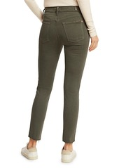 7 For All Mankind Roxanne Mid-Rise Skinny Utility Seaming Jeans