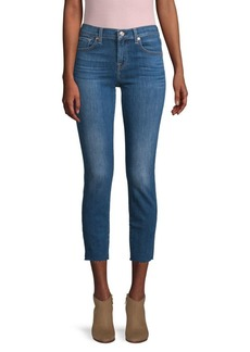 7 For All Mankind Roxanne Phoenix Sky Ankle Jeans