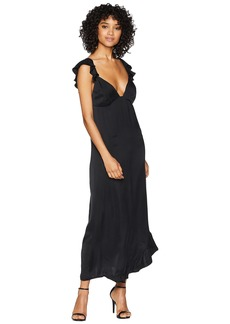 7 For All Mankind Ruffle Slip Dress