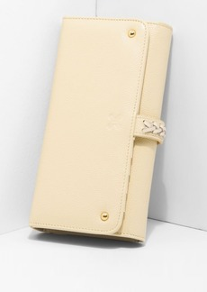 7 For All Mankind Sancia Giselle Wallet in Creme