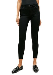 7 For All Mankind® Ankle Skinny Jeans (Luxe Black)