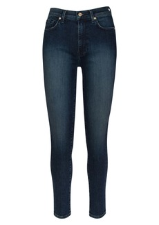7 For All Mankind Seven The Aubrey Ultra High Waist Ankle Skinny Jeans
