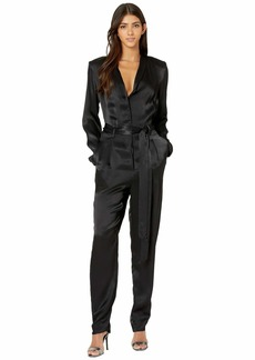 7 For All Mankind Shawl Collar Jumpsuit