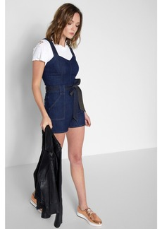 Short Play Suit in Deep Blue