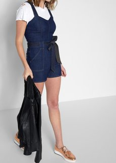 7 For All Mankind Short Play Suit in Deep Blue