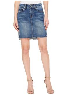 Short Skirt w/ Reverse Step Side Panel in Mojave Dusk