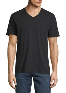 7 For All Mankind Short-Sleeve Cotton Tee