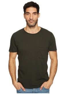 7 For All Mankind Short Sleeve Raw Pocket Crew