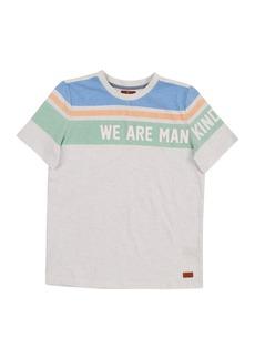 7 For All Mankind Short Sleeve Slub Jersey Henley (Little Boys)