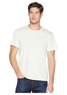 7 For All Mankind Short Sleeve Stone Washed Pima Crew