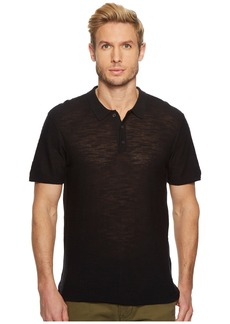 7 For All Mankind Short Sleeve Sweater Polo