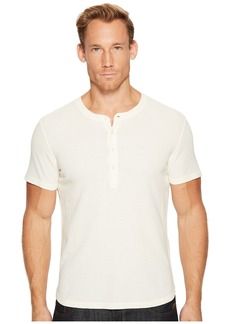 7 For All Mankind Short Sleeve Thermal Henley